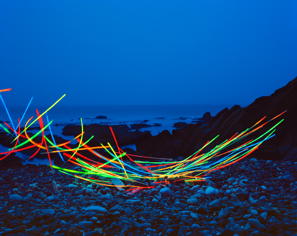 Thomas Jackson, 'Glow Necklaces No. 2', Pescadero, California, Archival Pigment Print, 2016