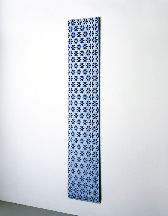 Imi Hwangbo, 'Lepidoptera', 2005, Archival ink and hand-cut mylar, 73x15x2 in.