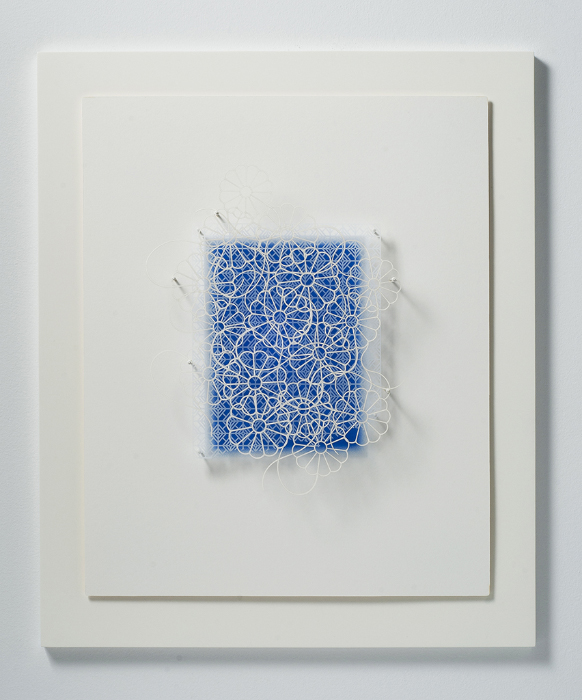 Imi Hwangbo, 'Solstice', 2016, Archival color pencil and cut paper, 26x21x2.5 in.